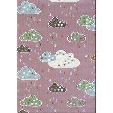 Παιδική χαλομοκέτα Baby Clouds 055 Lila